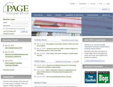 Tecnavia: Page Cooperative Platinum Supplier